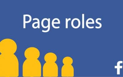 What are Facebook page roles?